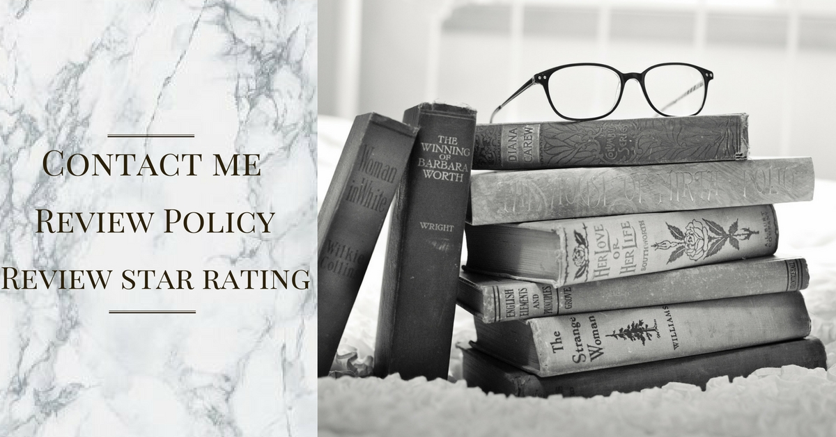 Contact Me | Book Review policy | Book Rating System