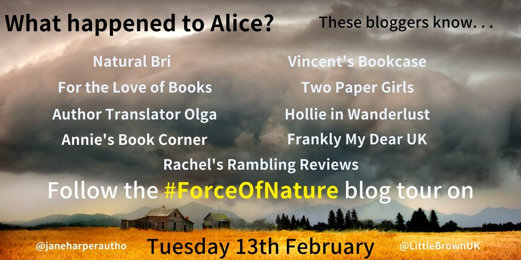 Blog Tour | Book Review | Force of Nature – Jane Harper