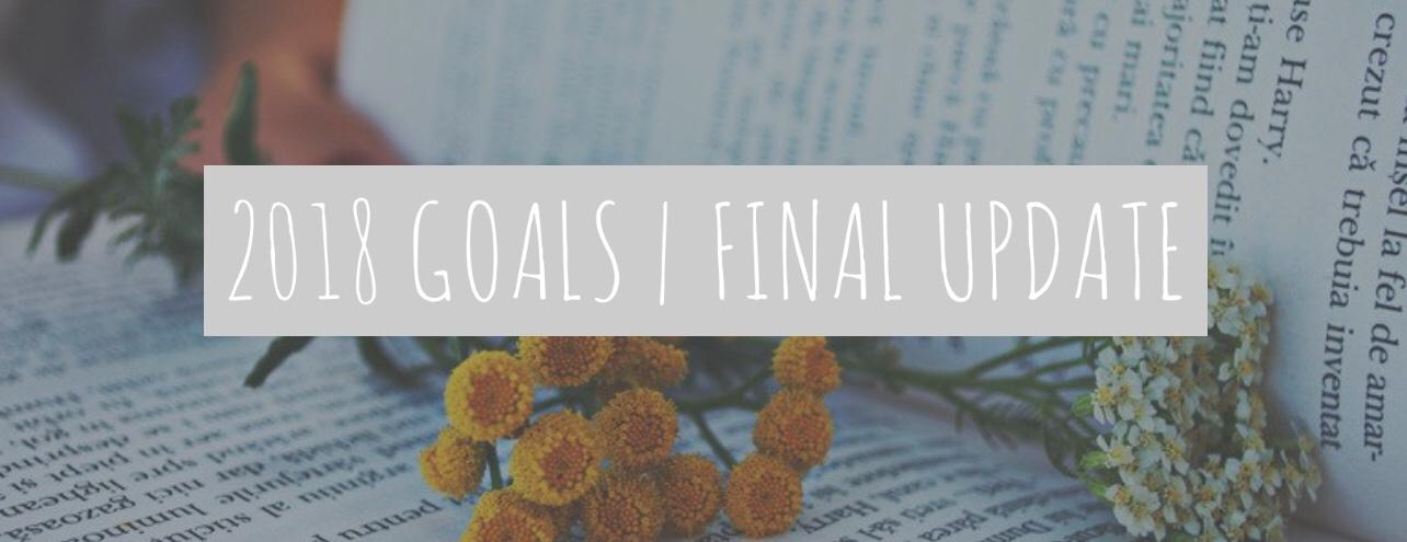 2018 Goals | Final Update
