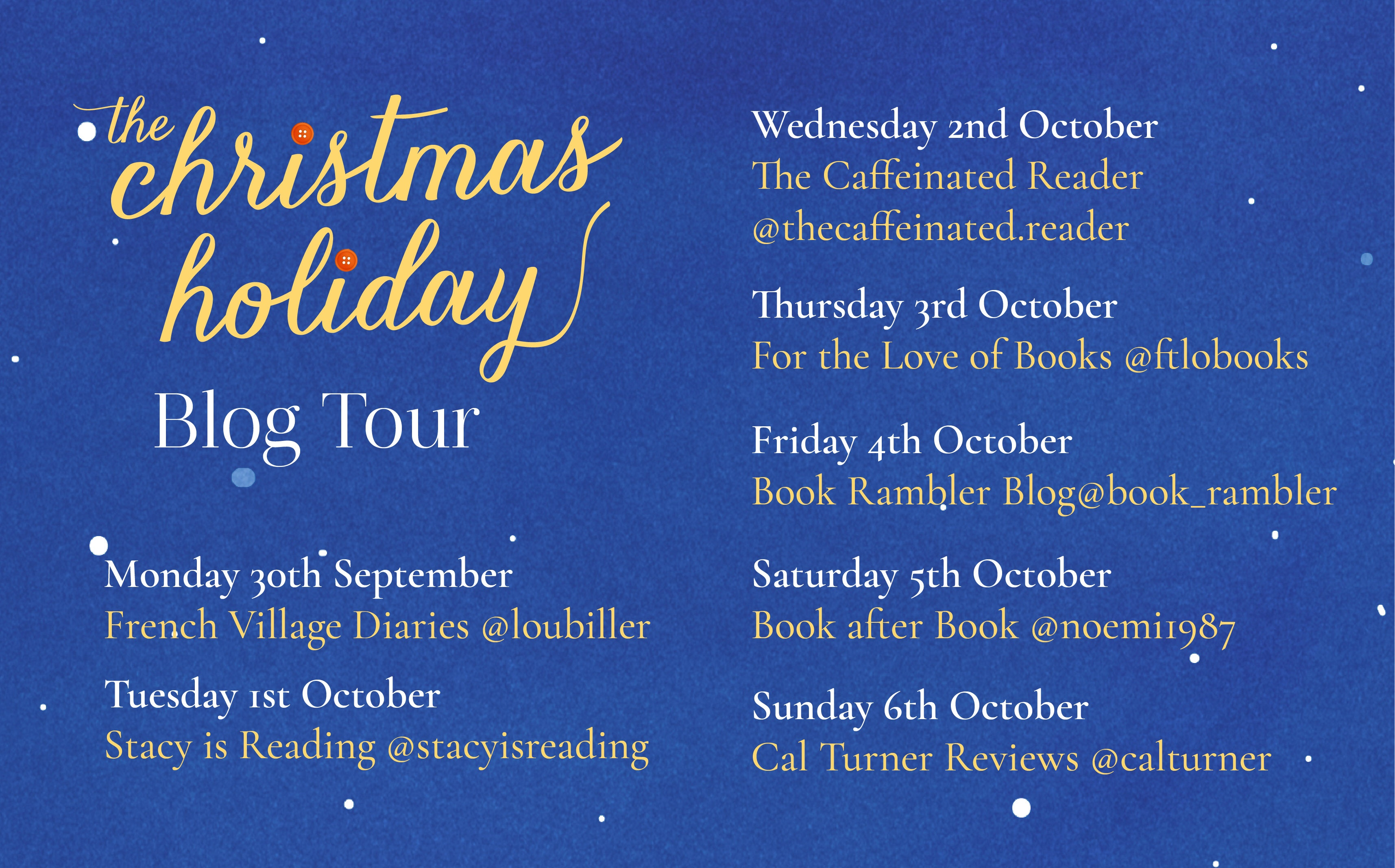 Blog Tour // The Christmas Holiday – Sophie Claire // #Gifted