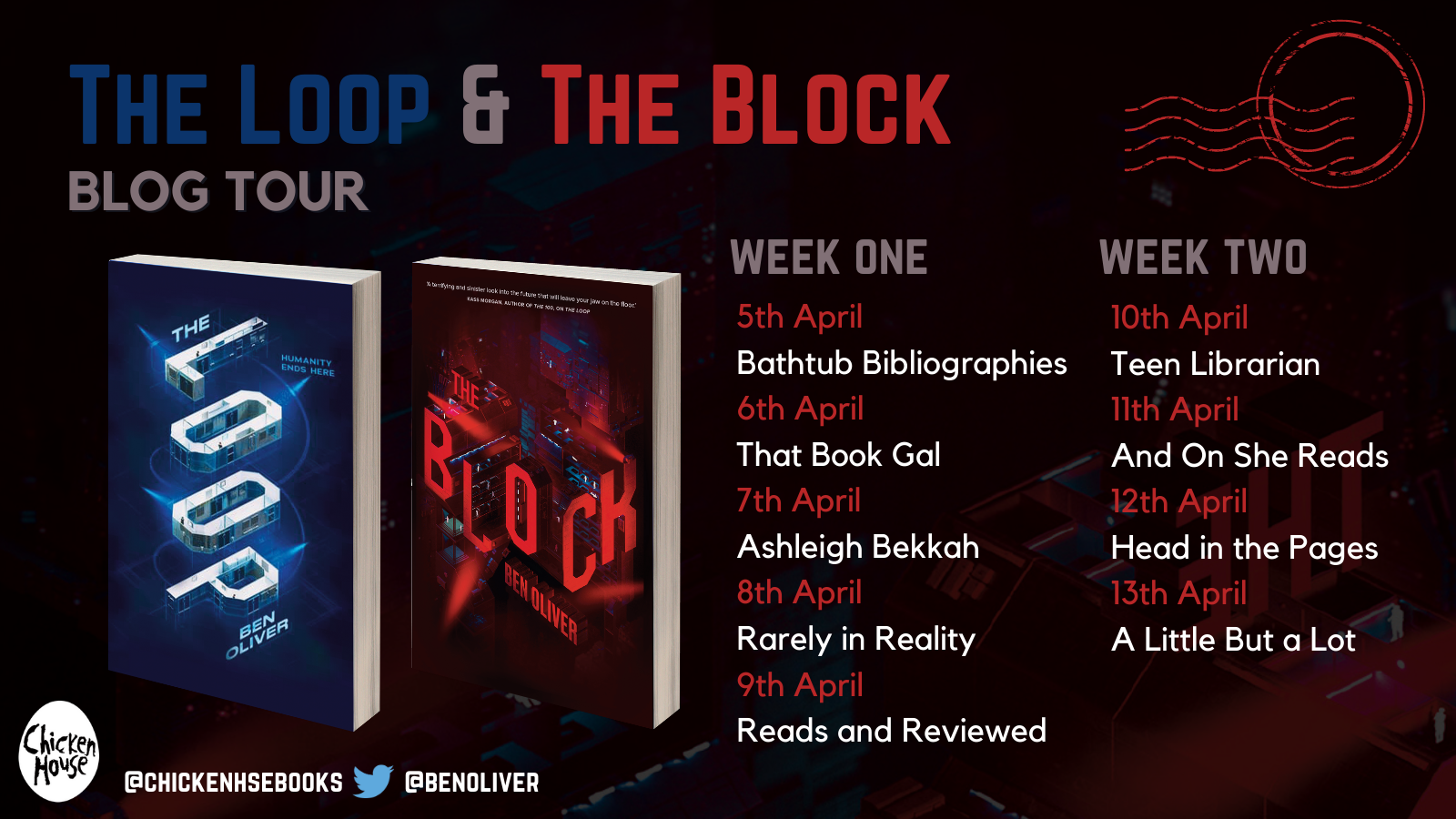 AD-PR // Blog Tour // The Loop & The Block – Ben Oliver