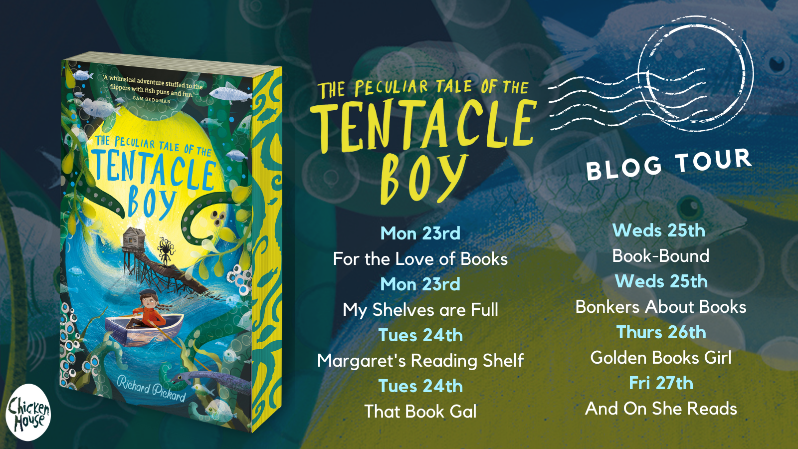 Book Review | The Peculiar Tale of the Tentacle Boy – Richard Pickard | #AD-PR